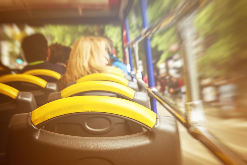 איך להימנע מבחילה בזמן נסיעה