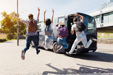 נסיעה ארוכה עם ילדים