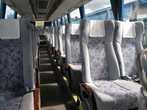 סידור מקומות הישיבה באוטובוס